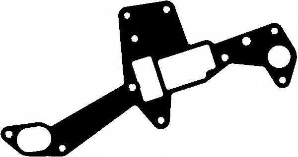 Прокладка корпуса маслянного фильтра ELRING 390.470 - изображение