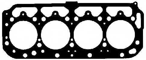Прокладка головки цилиндра ELRING 436.631 - изображение