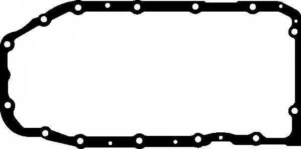 Прокладка, масляный поддон ELRING 451.060 - изображение
