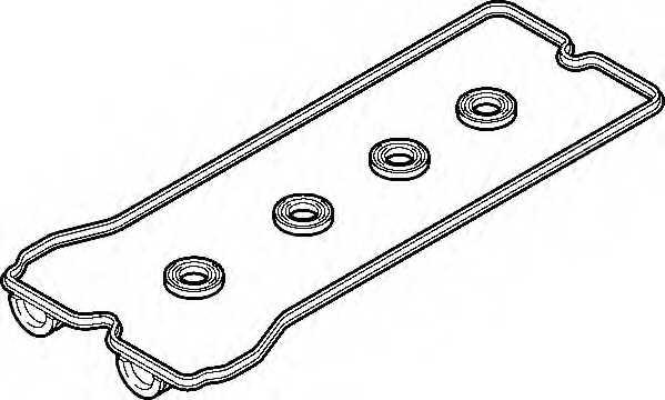 Комплект прокладок крышки головки цилиндра ELRING 457.040 - изображение