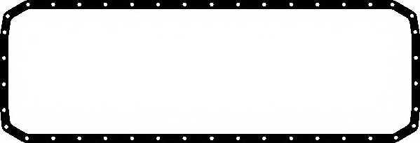 Прокладка, масляный поддон ELRING 489.091 - изображение