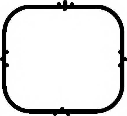 Прокладка впускного коллектора ELRING 489.870 - изображение