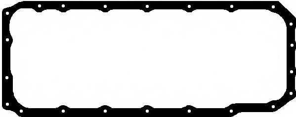 Прокладка, масляный поддон ELRING 492.520 - изображение