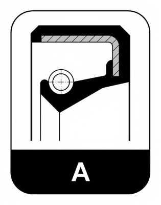 Сальник ступицы колеса ELRING 530.107 - изображение