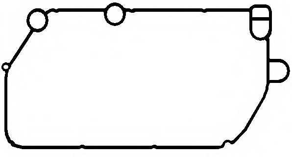 Прокладка, маслянный радиатор ELRING 570.300 - изображение