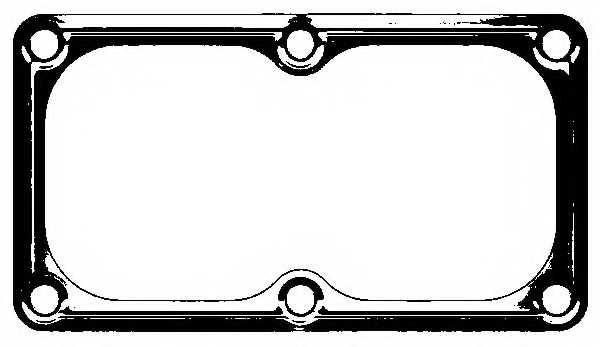 Прокладка впускного коллектора ELRING 584.800 - изображение