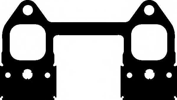 Прокладка выпускного коллектора ELRING 584.970 - изображение
