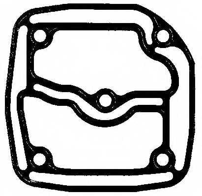 Прокладка ELRING 612.780 - изображение