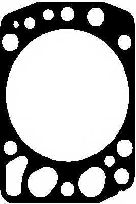 Прокладка головки цилиндра ELRING 748.080 - изображение