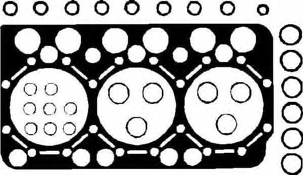 Прокладка головки цилиндра ELRING 754.641 - изображение