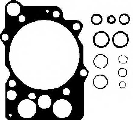 Прокладка головки цилиндра ELRING 755.621 - изображение