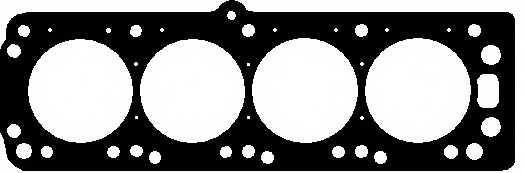 Прокладка головки цилиндра ELRING 763.845 - изображение