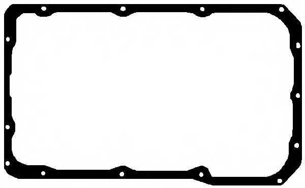 Прокладка, масляный поддон ELRING 765.696 - изображение
