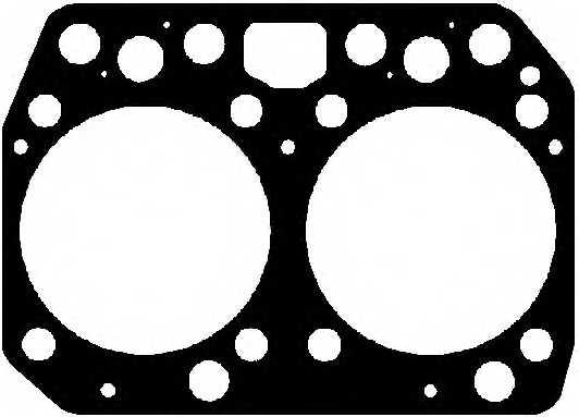 Прокладка головки цилиндра ELRING 845.710 - изображение