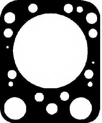 Прокладка головки цилиндра ELRING 893.472 - изображение