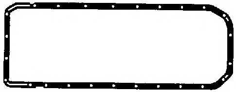 Прокладка, масляный поддон ELRING 894.656 - изображение