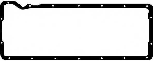 Прокладка, масляный поддон ELRING 895.319 - изображение
