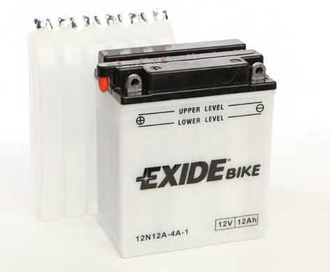 Аккумулятор EXIDE 12N12A-4A-1 - изображение