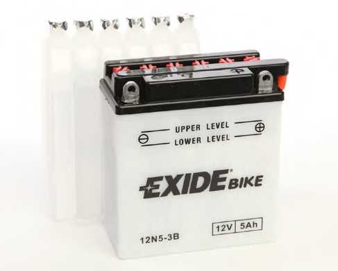 Аккумулятор EXIDE 12N5-3B - изображение