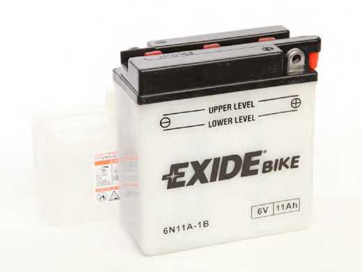 Аккумулятор EXIDE 012 011 008 / 6N11A-1B - изображение