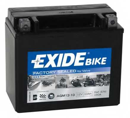 Аккумулятор EXIDE AGM12-10 - изображение