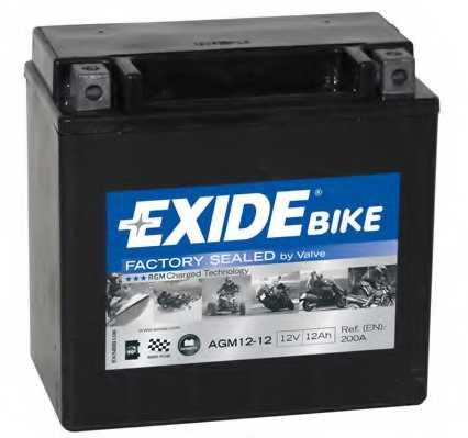 Аккумулятор EXIDE AGM12-12 - изображение