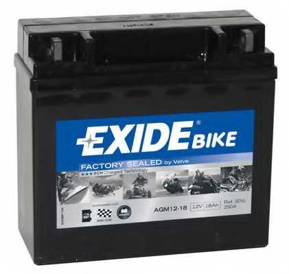 Аккумулятор EXIDE AGM12-18 - изображение