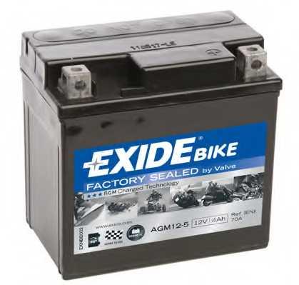 Аккумулятор EXIDE AGM12-5 - изображение