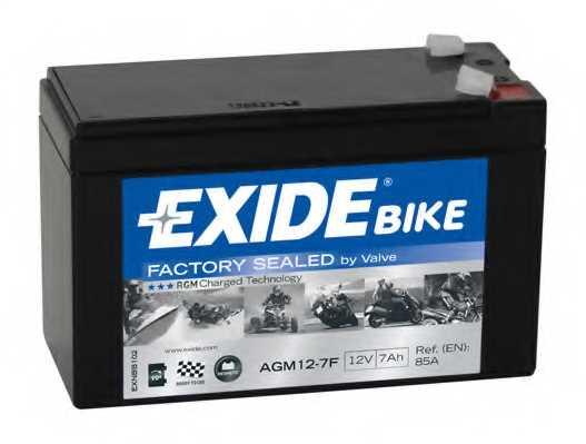 Аккумулятор EXIDE AGM12-7F - изображение