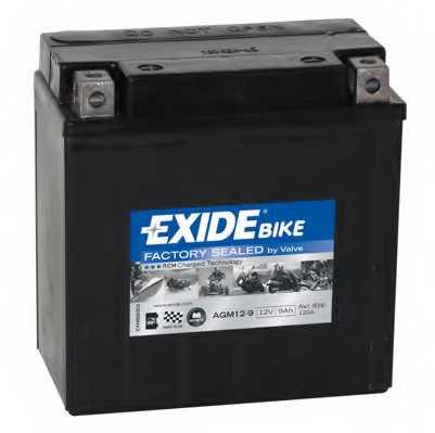 Аккумулятор EXIDE AGM12-9 - изображение