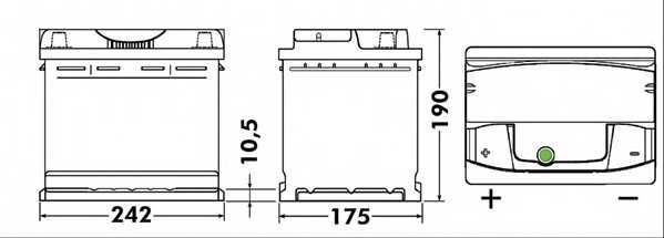 Аккумулятор EXIDE EA641 - изображение