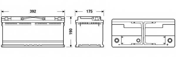Аккумулятор EXIDE EB1100 - изображение 1