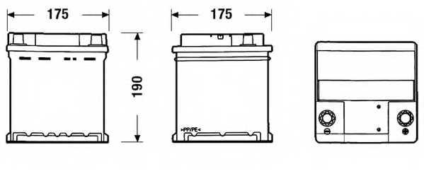 Аккумулятор EXIDE EC400 - изображение 1