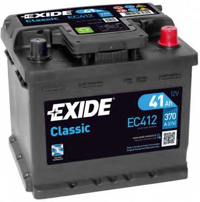 Аккумулятор EXIDE 063RE / EC412 - изображение