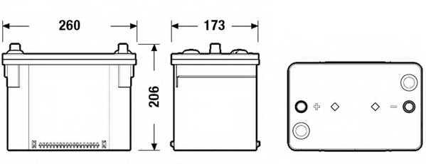 Аккумулятор EXIDE EK508 - изображение 1