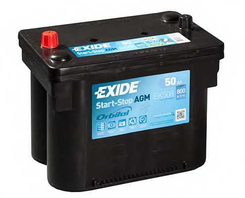 Аккумулятор EXIDE EK508 - изображение