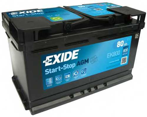 Аккумулятор EXIDE 115AGM / EK800 - изображение