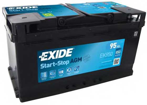 Аккумулятор EXIDE 017AGM / EK950 - изображение