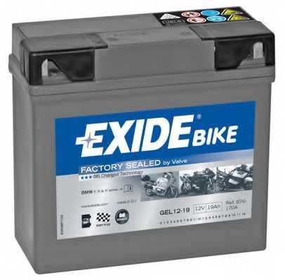 Аккумулятор EXIDE GEL12-19 - изображение