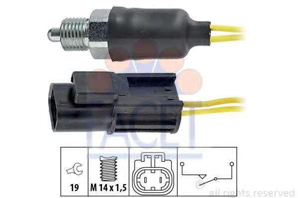 Выключатель фары заднего хода FACET EPS 1.860.115 / 7.6115 - изображение