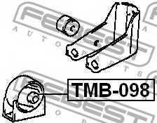 Подвеска двигателя FEBEST TMB-098 - изображение 1