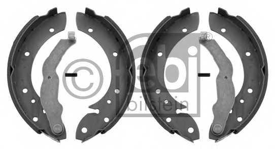 Комплект тормозных колодок задний для BMW 3(E36) <b>FEBI BILSTEIN 01019</b> - изображение