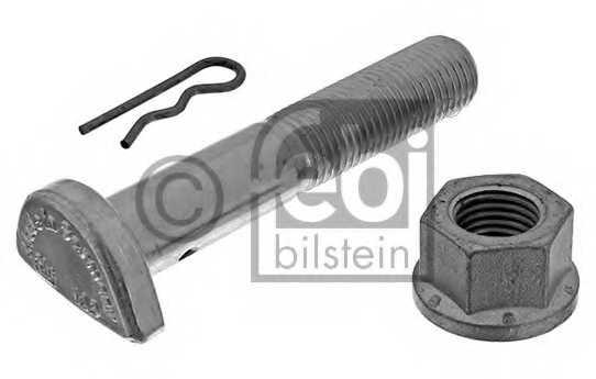 Болт крепления колеса FEBI BILSTEIN 01206 - изображение