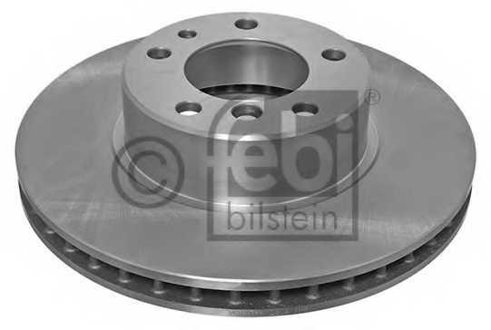 Тормозной диск FEBI BILSTEIN 01714 - изображение