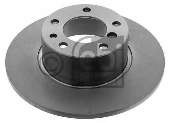 Тормозной диск FEBI BILSTEIN 01716 - изображение