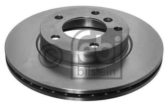 Тормозной диск FEBI BILSTEIN 01718 - изображение