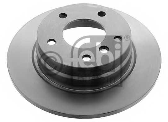 Тормозной диск FEBI BILSTEIN 01725 - изображение