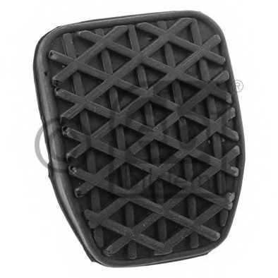 Педальные накладка, педаль тормоз FEBI BILSTEIN 01760 - изображение