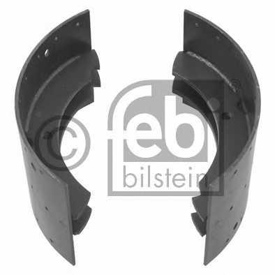 Комплект тормозных колодок FEBI BILSTEIN 01980 - изображение