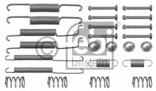 Комплектующие тормозной колодки FEBI BILSTEIN 02060 - изображение